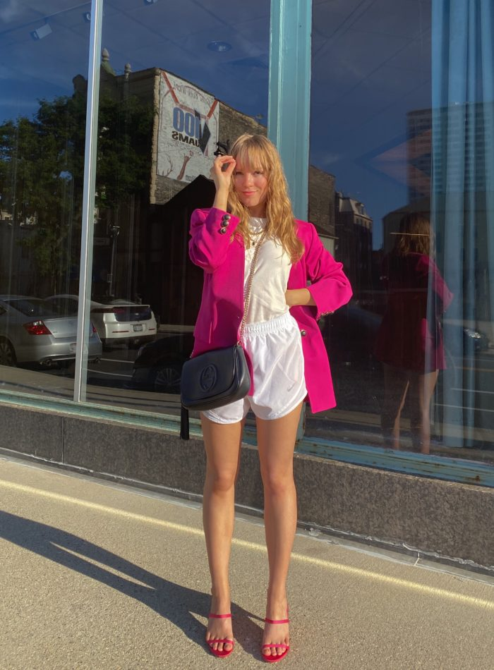 STYLING THIS HOT PINK MONOCHROME OUTIFT