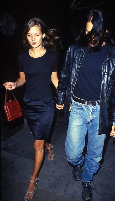 '90s Kate Moss summer outfit ideas